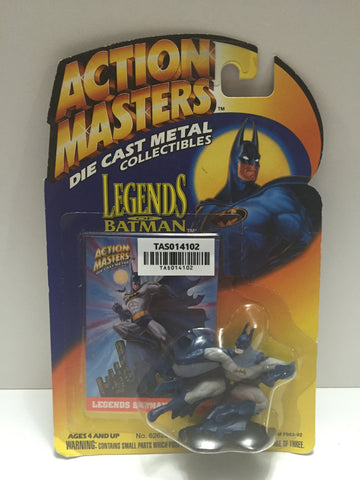 (TAS014102) - 1994 Action Masters Die Cast Metal - Batman Figure, , Action Figure, Batman, The Angry Spider Vintage Toys & Collectibles Store  - 1