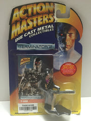 (TAS014108) - Action Masters Die Cast Metal Terminator 2 T-800, , Action Figure, Kenner, The Angry Spider Vintage Toys & Collectibles Store  - 1