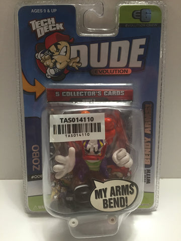(TAS014110) - Tech Deck Dude Evolution - #008 Zobo, , Action Figure, Unknown, The Angry Spider Vintage Toys & Collectibles Store  - 1