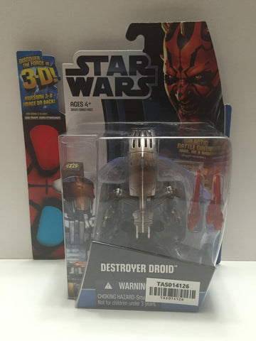 (TAS014126) - Star Wars Destroyer Droid Discover the Force 3D (Walmart Exclusive, , Action Figure, Star Wars, The Angry Spider Vintage Toys & Collectibles Store  - 1
