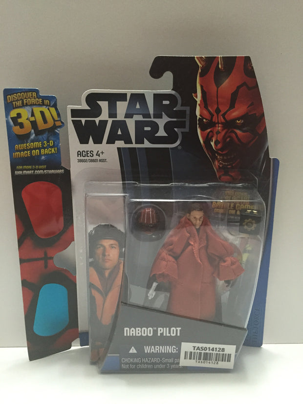 (TAS014128) - Star Wars Naboo Pilot Discover the Force 3D (Walmart Exclusive), , Action Figure, Star Wars, The Angry Spider Vintage Toys & Collectibles Store  - 1