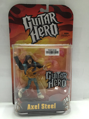 "(TAS014143) - Guitar Hero ""Axel Steel"" Figure, , Action Figure, n/a, The Angry Spider Vintage Toys & Collectibles Store  - 1"