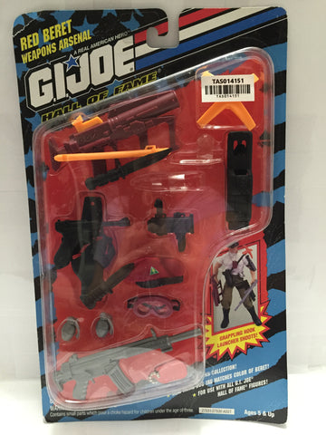 (TAS014151) - G.I. Joe Red Beret Weapons Arsenal Hall of Fame, , TV, Movie & Video Games, G.I. Joe, The Angry Spider Vintage Toys & Collectibles Store  - 1