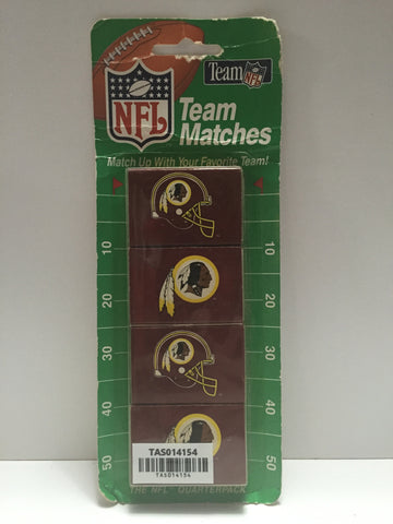 (TAS014154) - NFL Team Matches - Washington Redskins 4 packs, , Trucks & Cars, NFL, The Angry Spider Vintage Toys & Collectibles Store  - 1
