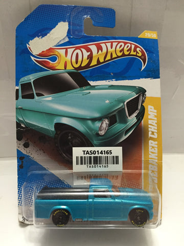 (TAS014165) - Hot Wheels '63 Studebaker Champ Blue, , Cars, Hot Wheels, The Angry Spider Vintage Toys & Collectibles Store