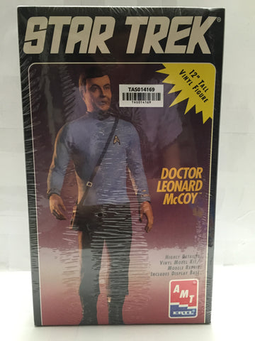 "(TAS014169) - ERTL Star Trek 12"" Vinyl Figure ""Doctor Leonard McCoy"", , Action Figure, Ertl, The Angry Spider Vintage Toys & Collectibles Store  - 1"