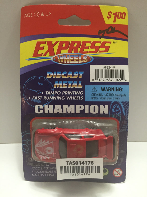 (TAS014176) - Express Wheels Diecast Metal Champion Car, , Trucks & Cars, n/a, The Angry Spider Vintage Toys & Collectibles Store  - 1