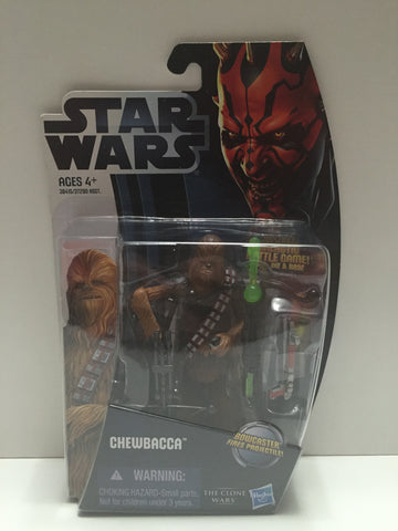 (TAS014179) - Star Wars The Clone Wars - Chewbacca Figure with Bowcaster that Fi, , Action Figure, Star Wars, The Angry Spider Vintage Toys & Collectibles Store  - 1