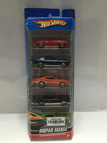 (TAS014193) - Hot Wheels Mopar Mania - 5pk, , Cars, Hot Wheels, The Angry Spider Vintage Toys & Collectibles Store  - 1