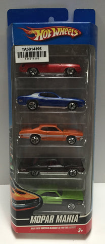 (TAS014195) - Hot Wheels - Mopar Mania 5 pack, , Cars, Hot Wheels, The Angry Spider Vintage Toys & Collectibles Store  - 1