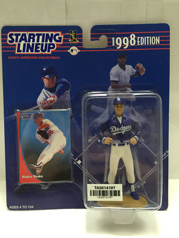 "(TAS014197) - Starting Lineup 1998 Edition ""Hideo Nomo"" Dodgers, , Action Figure, Starting Lineup, The Angry Spider Vintage Toys & Collectibles Store  - 1"