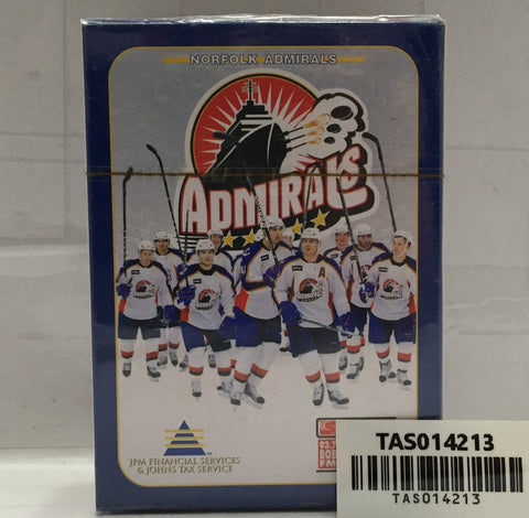 (TAS014213) - Norfolk Admiral Hockey Playing Cards, , Playing Cards, NHLPA, The Angry Spider Vintage Toys & Collectibles Store  - 1