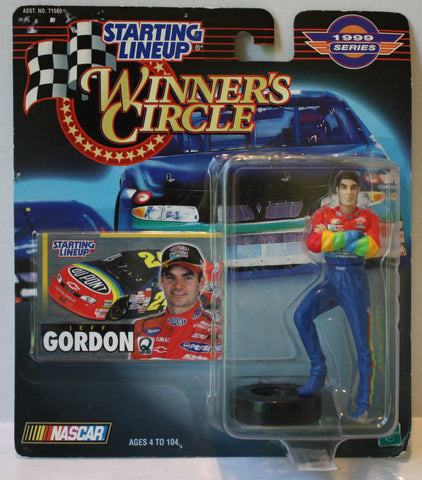 (TAS020318) - 1999 Starting Lineup Winner's Circle NASCAR - Jeff Gordon standing, , Action Figure, Starting Lineup, The Angry Spider Vintage Toys & Collectibles Store  - 1