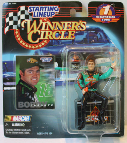 (TAS020358) - 1999 Starting Lineup Winner's Circle NASCAR - Bobby Labonte, , Action Figure, Starting Lineup, The Angry Spider Vintage Toys & Collectibles Store  - 1