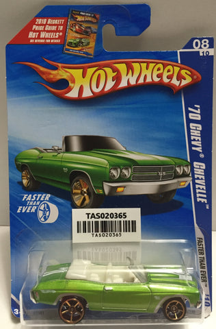 TAS025624 - Mattel Hot Wheels Die-Cast - 2009 '70 Chevy Chevelle