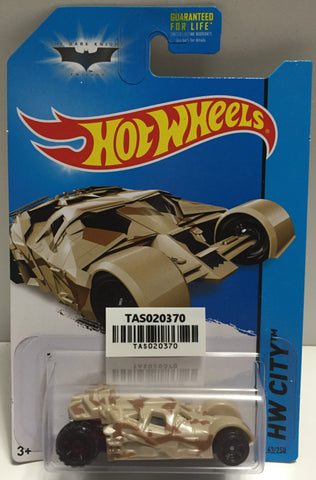 TAS025625 - Mattel Hot Wheels Die-Cast - 2013 Batman HW City