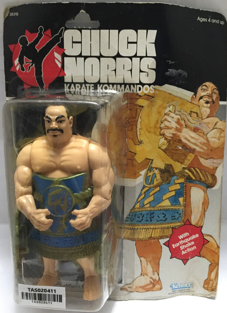 (TAS020411) - 1985 Kenner Chuck Norris Karate Kommandos - Tabe, , Action Figure, Kenner, The Angry Spider Vintage Toys & Collectibles Store  - 1