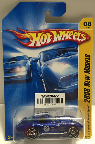 TAS025632 - Mattel Hot Wheels Die-Cast - 2007 Corvette Grand Sport