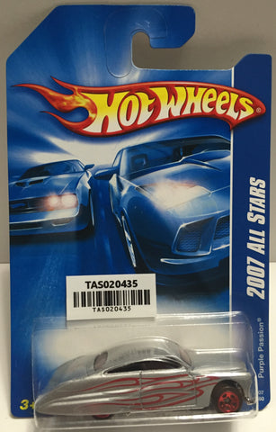 TAS025634 - Mattel Hot Wheels Die-Cast - 2006 Purple Passion