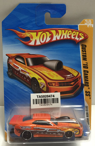 TAS025638 - Mattel Hot Wheels Die-Cast - 2010 Custom '10 Camaro SS