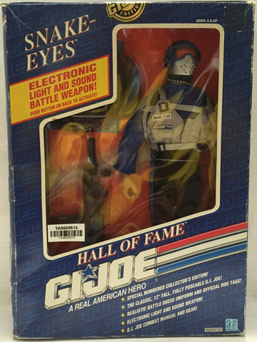 (TAS020513) - 1991 Hasbro G.I. Joe Hall of Fame - Snake-Eyes (Light & Sound), , Action Figure, G.I. Joe, The Angry Spider Vintage Toys & Collectibles Store  - 1