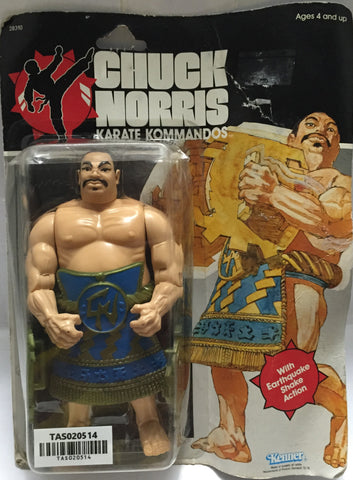 (TAS020514) - 1985 Kenner Chuck Norris Karate Kommandos - Tabe, , Action Figure, Kenner, The Angry Spider Vintage Toys & Collectibles Store  - 1