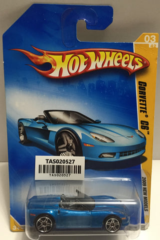 TAS025644 - Mattel Hot Wheels Die-Cast - 2008 Corvette C6