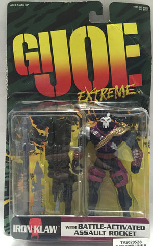 (TAS020528) - 1996 Hasbro G.I. Joe Extreme Figure - Iron Klaw, , Action Figure, G.I. Joe, The Angry Spider Vintage Toys & Collectibles Store  - 1