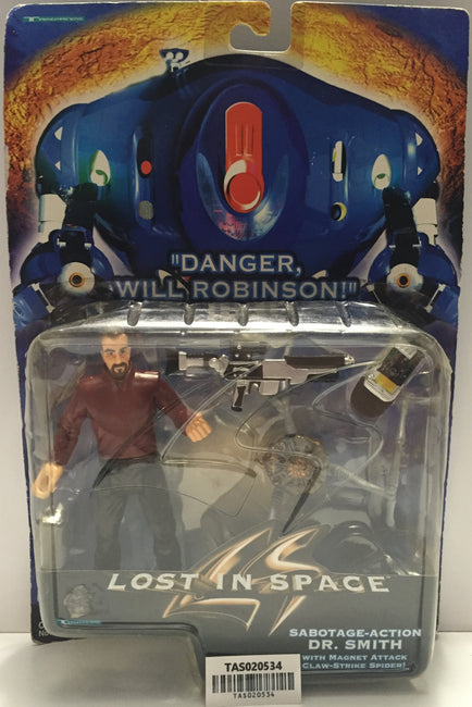 (TAS020534) - Lost In Space Action Figure - Sabotage-Action Dr. Smith, , Action Figure, n/a, The Angry Spider Vintage Toys & Collectibles Store  - 1