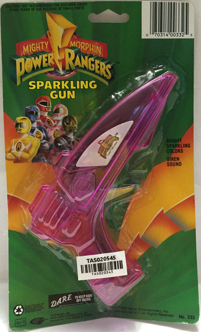 (TAS020545) - 1993 Saban Mighty Morphin Power Rangers Purple Sparkling Gun, , Sparkling Gun, Power Rangers, The Angry Spider Vintage Toys & Collectibles Store  - 1