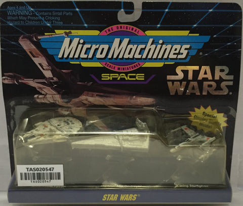(TAS020547) -1993 Galoob Micro Machines Star Wars Space Star Destroyer, , Action Figure, Galoob, The Angry Spider Vintage Toys & Collectibles Store  - 1