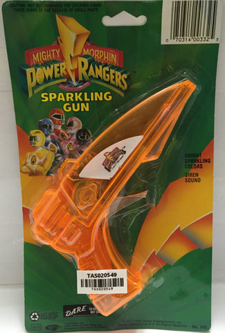 (TAS020549) - 1993 Saban Mighty Morphin Power Rangers Orange Sparkling Gun, , Sparkling Gun, Power Rangers, The Angry Spider Vintage Toys & Collectibles Store  - 1