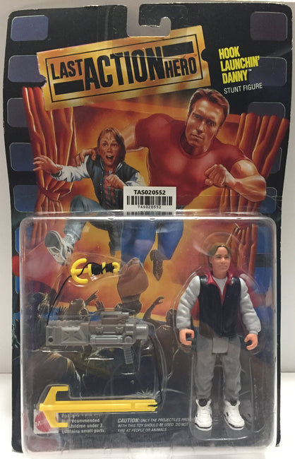 (TAS020552) - 1993 Mattel Last Action Hero - Hook Launchin' Danny Stunt Figure, , Action Figure, Mattel, The Angry Spider Vintage Toys & Collectibles Store  - 1