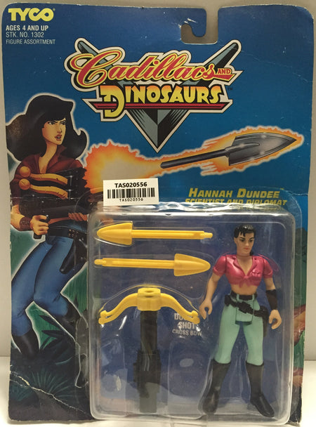 (TAS020556) - 1993 Tyco Cadillacs And Dinosaurs - Hannah Dundee Scientist, , Action Figure, Tyco, The Angry Spider Vintage Toys & Collectibles Store