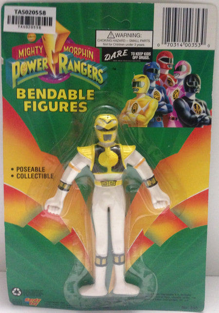 (TAS020558) - Mighty Morphin Power Rangers - Yellow Bendable Figure Trini, , Action Figure, Power Rangers, The Angry Spider Vintage Toys & Collectibles Store  - 1