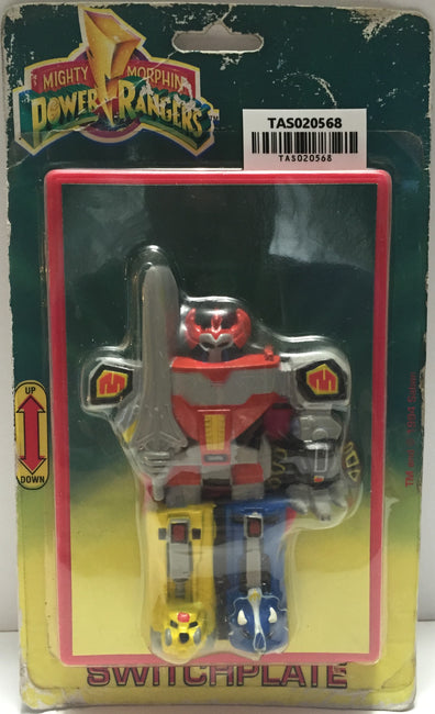 (TAS020568) - 1994 Saban Toys - Mighty Morphin Power Rangers Switchplate, , Lights & Lamps, Power Rangers, The Angry Spider Vintage Toys & Collectibles Store  - 1