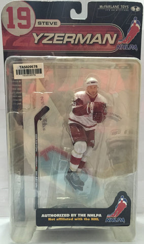 (TAS020578) - McFarlane Sports Picks Figure NHLPA - Steve Yzerman, , Action Figure, NHL, The Angry Spider Vintage Toys & Collectibles Store  - 1