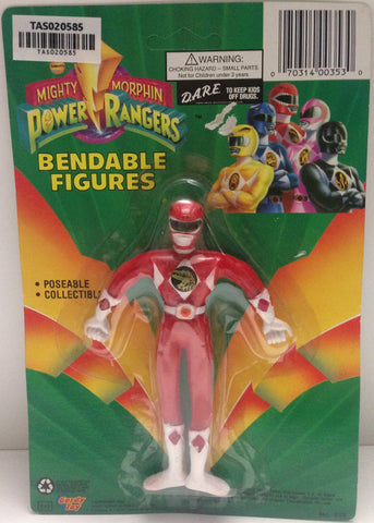 (TAS020585) - Mighty Morphin Power Rangers - Red Bendable Figure Jason, , Action Figure, Power Rangers, The Angry Spider Vintage Toys & Collectibles Store  - 1