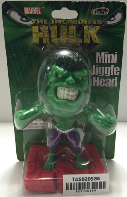(TAS020586) - 2003 Marvel - The Incredible Hulk Mini Jiggle Head Bobble Head, , Bobblehead, Incredible Hulk, The Angry Spider Vintage Toys & Collectibles Store  - 1