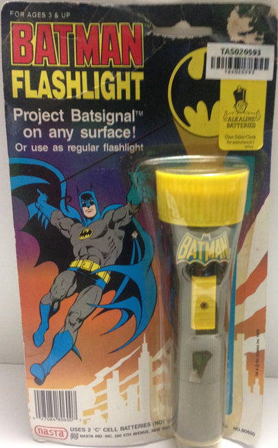 (TAS020593) - Nasta Batman Flashlight - Project Batsignal, , Flashlight, n/a, The Angry Spider Vintage Toys & Collectibles Store  - 1