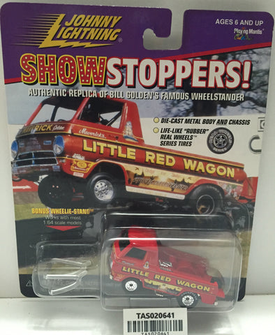 (TAS020641) - Johnny Lightning Die-Cast ShowStoppers! Replica - Little Red Wagon, , Trucks & Cars, Johnny Lightning, The Angry Spider Vintage Toys & Collectibles Store  - 1