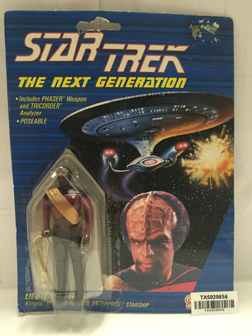 (TAS020656) - 1988 Galoob Star Trek The Next Generation - Lieutenant Worf, , Action Figure, Star Trek, The Angry Spider Vintage Toys & Collectibles Store  - 1