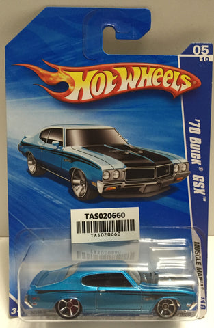 TAS025647 - Mattel Hot Wheels Die-Cast - 2009 '70 Buick GSX