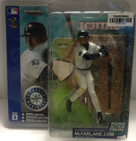 (TAS020664) - McFarlane Sports - Ichiro Seattle Mariners Rookie Figure, , Action Figure, McFarlane Toys, The Angry Spider Vintage Toys & Collectibles Store  - 1
