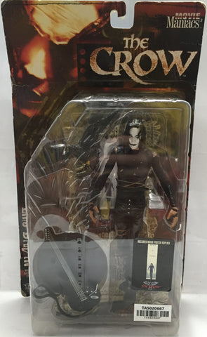 (TAS020667) -1999 McFarlane Movie Maniacs - The Crow, , Action Figure, McFarlane, The Angry Spider Vintage Toys & Collectibles Store  - 1
