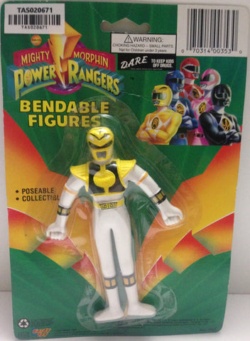 (TAS020671) - Mighty Morphin Power Rangers - Yellow Bendable Figure Trini, , Action Figure, Power Rangers, The Angry Spider Vintage Toys & Collectibles Store  - 1