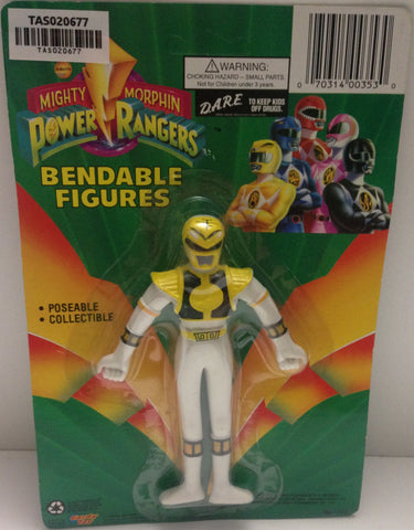 (TAS020677) - Mighty Morphin Power Rangers - Yellow Bendable Figure Trini, , Action Figure, Power Rangers, The Angry Spider Vintage Toys & Collectibles Store  - 1