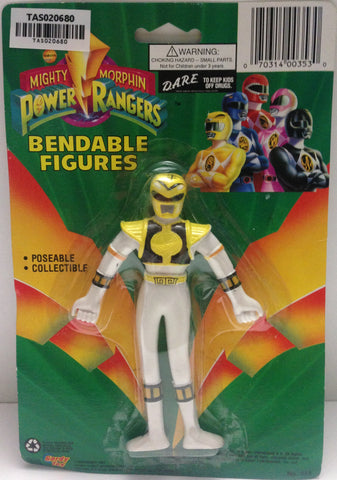 (TAS020680) - Mighty Morphin Power Rangers - Yellow Bendable Figure Trini, , Action Figure, Power Rangers, The Angry Spider Vintage Toys & Collectibles Store  - 1