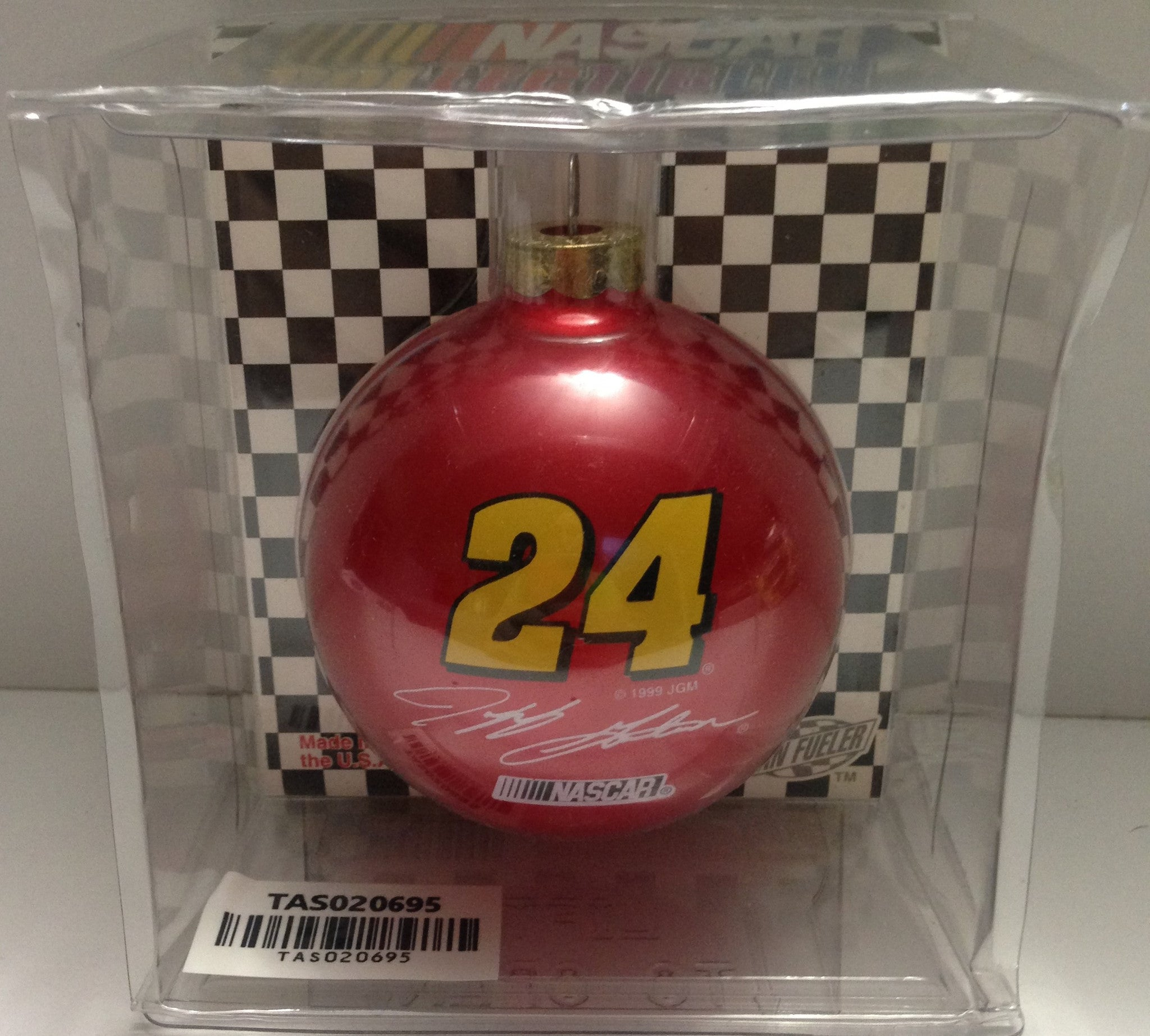 (tas020695)  Fan Fueler Christmas Ornament  Nascar #24 Jeff Gordon, ,