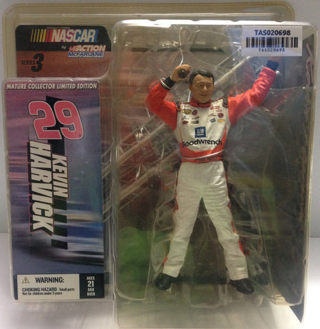 (TAS020698) - McFarlane Sports - Kevin Harvick #29 Nascar Figure, , Action Figure, McFarlane Toys, The Angry Spider Vintage Toys & Collectibles Store  - 1